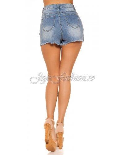 Fusta jeans tip skort Rachel