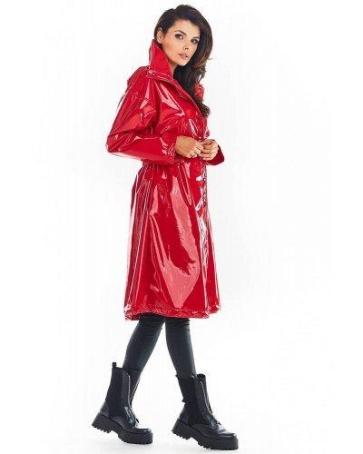 Palton rosu lacuit de dama Tokyo