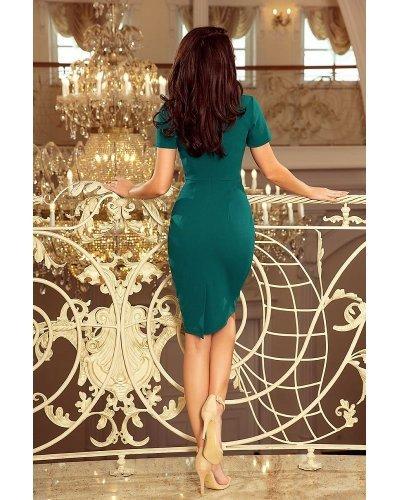 Rochie de zi tip creion midi verde Livia