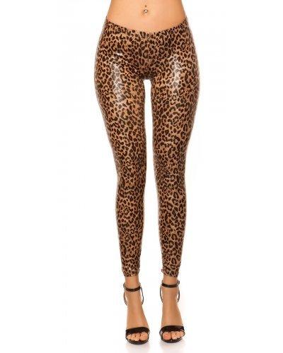 Colanti dama animal print leopard Bonye