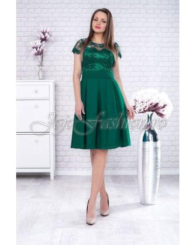 Rochie XXL midi verde Valentina