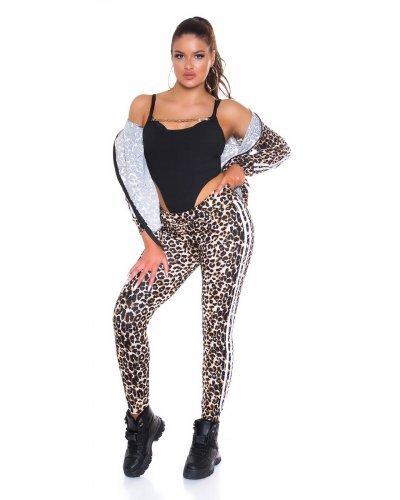 Trening dama leopard print Bijoux