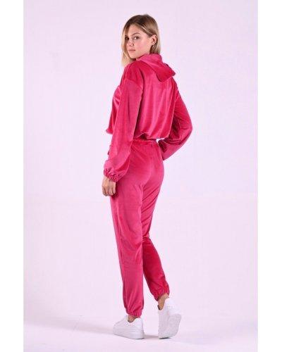 Trening dama catifea roz fucsia Elisa