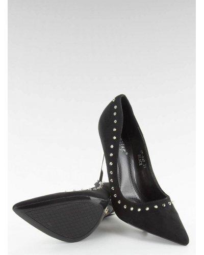 Pantofi de dama stiletto negri Amely