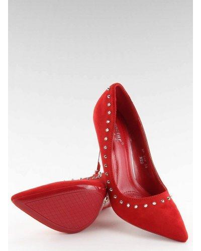 Pantofi de dama stiletto rosii Amely