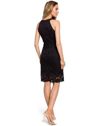 Rochie de ocazie din dantela neagra Aysun